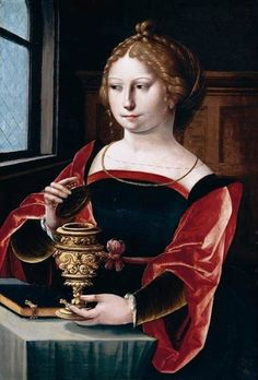 Mary Magdalen, Master of the Parrot  (active 1525-50 in Antwerp)