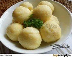 Jemné bramborové knedlíky Hamburger, Potatoes, Keto, Bread, Cheese, Vegetables, Recipes, Food, Potato
