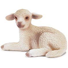 Lamb, Lying - Schleich