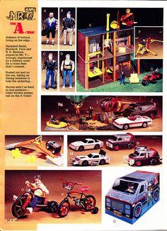 Agence tous riques / The A team (CEJI / GALOOB) 1984