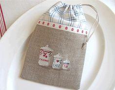 bags for holding items, eg tea bags