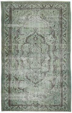Colored Vintage tæppe 171x275