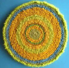 Crochet info 101:  Shirret, what is it?