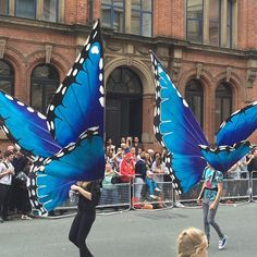 Loved these costumes. #mancspride