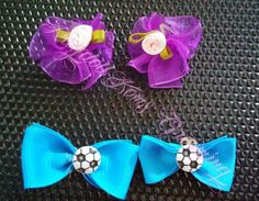 Bows for boy and girl dogs!  Bows for all holidays and occasions!