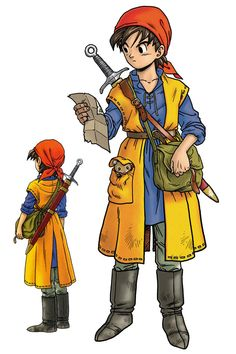 Dragon Quest VIII:  Hero - Art by 鳥山 明 Akira Toriyama*  • Blog/Website | ( ...... )   ★ || CHARACTER DESIGN REFERENCES (https://www.facebook.com/CharacterDesignReferences & https://www.pinterest.com/characterdesigh) • Love Character Design? Join the #CDChallenge (link→ https://www.facebook.com/groups/CharacterDesignChallenge) Share your unique vision of a theme, promote your art in a community of over 25.000 artists! || ★