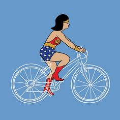 Invisible bike. Art by Mike Joos.