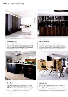 Elmar kitchens available from Laurence Pidgeon laurencepidgeon.com Beautiful Kitchens July-August 2014