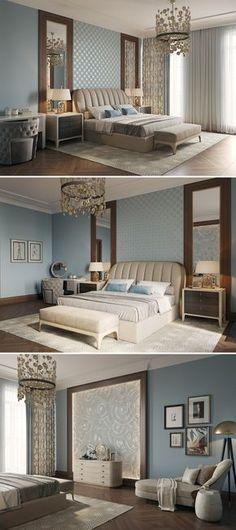 Schlafzimmer gestalten - 144 Schlafzimmer Ideen mit Stil Bedrooms - schlafzimmer gestalten grau