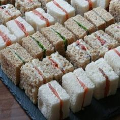 Sandwich variations with different types of bread: smoked salmon cream cheese, . - Sandy - Sandwich variations with different types of bread: smoked salmon cream cheese, … – - Tasty Meal, Smoked Salmon Cream Cheese, Mini Sandwiches, Mini Sandwich Appetizers, Finger Sandwiches, Sandwich Platter, Cheese Appetizers, Baby Shower Sandwiches, Funeral Sandwiches