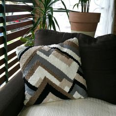 Check out this item in my Etsy shop https://www.etsy.com/au/listing/285596141/handwoven-cushion-no3