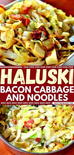 Cabbage And Noodles, Cabbage And Bacon, Fried Cabbage, Cabbage Recipes, Side Dishes Easy, Vegetable Side Dishes, Side Dish Recipes, Vegetable Recipes, Dinner Recipes
