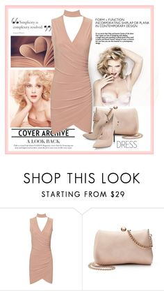 """Choker Dresses"" by erina-i ❤ liked on Polyvore featuring WearAll, LC Lauren Conrad and Casadei"