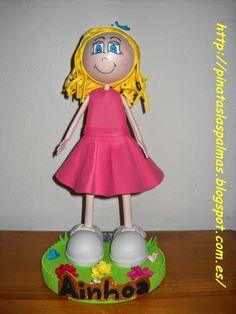 Piñatas Las Palmas: Fofucha niña