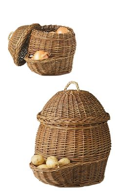 Potato & Onion Storage Baskets