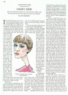 Article about Chloe Sevigny 1994