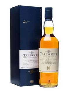 Talisker 10 Year Old. A fine choice for a fine gentleman.