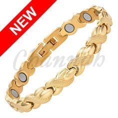 Find More Chain & Link Bracelets Information about 2016 Women Classic Cross… Cheap Bracelets, Bangle Bracelets, Link Bracelets, Jewelry Accessories, Women Jewelry, Gold Bangles, Stainless Steel Bracelet, 18k Gold