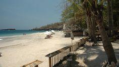 White Sandy Virgin Beach