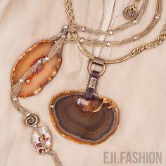 Когда простота формы становится синонимом безупречного исполнения.   Украшения EJI.FASHION — Идеальные украшения для избранных.   #ejifashionjewel #necklace #ejifashion #дизайнерскиеукрашения #ювелирныеукрашения #колье #агат