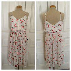 Vintage 70s cherry sundress  on Etsy, $48.00