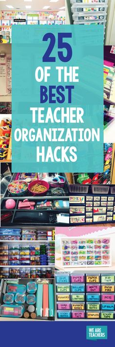 25 Pictures of Teacher Organization Perfection That Will Make You Drool - WeAreTeachers