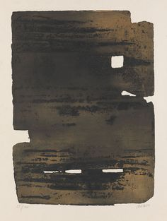 Pierre Soulages, 'Eau-forte nº 15', 1961, Etching and aqua tint in colours, 1961, Edition of 100