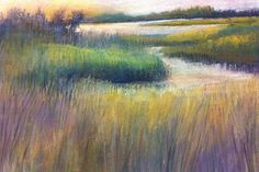 Pat Blair - Early Morning on Mobjack Bay- Pastel - Painting entry - April 2013   BoldBrush Painting Competition