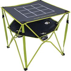 ALPS Mountaineering Eclipse Table With Tic Tac Toe Top #ad Tic Tac Toe, Drink Holder, Bugaboo, Game Pieces, Rv Living, Mountaineering, Alps, Bag Sale, Table