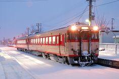 花輪線 キハ58 Japan Train, Diesel Engine, Transportation, Around The Worlds, Boat, Architecture, Places, Travel, World