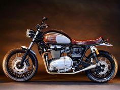 Triumph Triumph Cafe Racer, Triumph Scrambler, Scrambler Motorcycle, Cool Motorcycles, Triumph Motorcycles, Vintage Motorcycles, Triumph Bonneville, Harley Davidson, Retro Bike