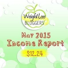Weight Loss Bloggers Income Report May 2015