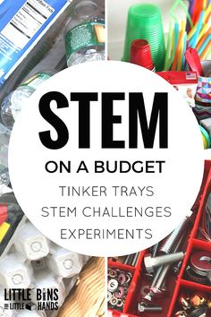 Budget STEM or Inexpensive STEM Ideas and Supplies for Kids