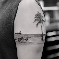 Image result for geometric ship tattoo