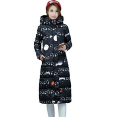 Winter Jacket Women Winter Coat Long Women Wadded Jackets Plus Size 2016 New…