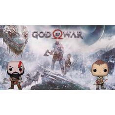Figurine Funko POP Bundle Games God of War Kratos (Axe) + Atreus ge... Kratos Axe, Funko Pop, Bd Comics, God Of War, Manga, Geek Stuff, Teddy Bear, Games, Toys