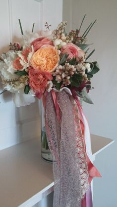 Wedding bouquet by Kate's Blossoms