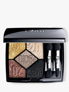 Dior 5 Couleurs Couture Eyeshadow Palette - Happy 2020 Limited Edition In 007 Party In Colours Dior Beauty, Beauty Makeup, Dior Makeup, Eye Makeup, Makeup Geek, Arch Brows, Color Harmony, Holiday Makeup, Couture