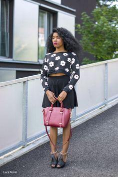 Skater-skirt-floral-sweater-black-style4