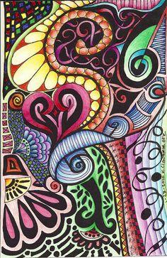 color zentangle
