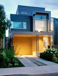 Fachada de casas pequenas e modernas - 25 lindas ideias