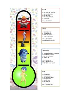 "inside out ""Emotiemeter"" School Hacks, School Projects, Coaching, School Reviews, Conscious Discipline, Therapy Worksheets, Mindfulness For Kids, Film School, School Teacher"