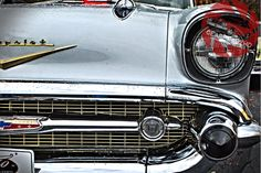"The best american classic car out there - The Chevy Belair! Get the print over at www.gearheadz.biz. $45.00 and FREE priority shipping in the US! (24""x36"")"