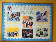 instagRAm - Meet the RAs Bulletin Board #RAlife #ResLife