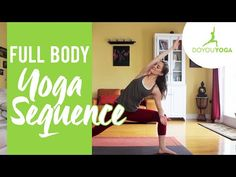 Head-to-Toe Yoga Sequence - Day 18 - 30-Day Yoga Challenge - YouTube