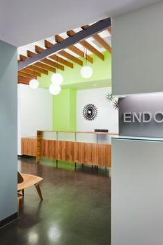 Endontics of Denver Reception front