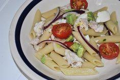 Cómo hacer ensalada de pasta con pollo, receta fácil y saludable - Antojo en tu cocina