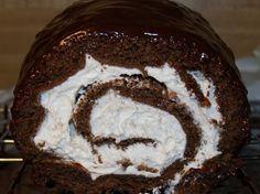 Homemade Little Debbie Swiss Cake Roll