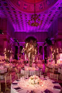 What began as a fateful blind date in the Big Apple led to this elegant culture affair at theCiprianiin New York withDesign House Décor.