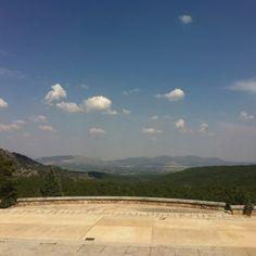 Vista Valle de los Caídos